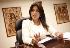 """Carmen Omonte: """"Congreso no provoca inestabilidad, sino las acciones del propio Vizcarra"""""""