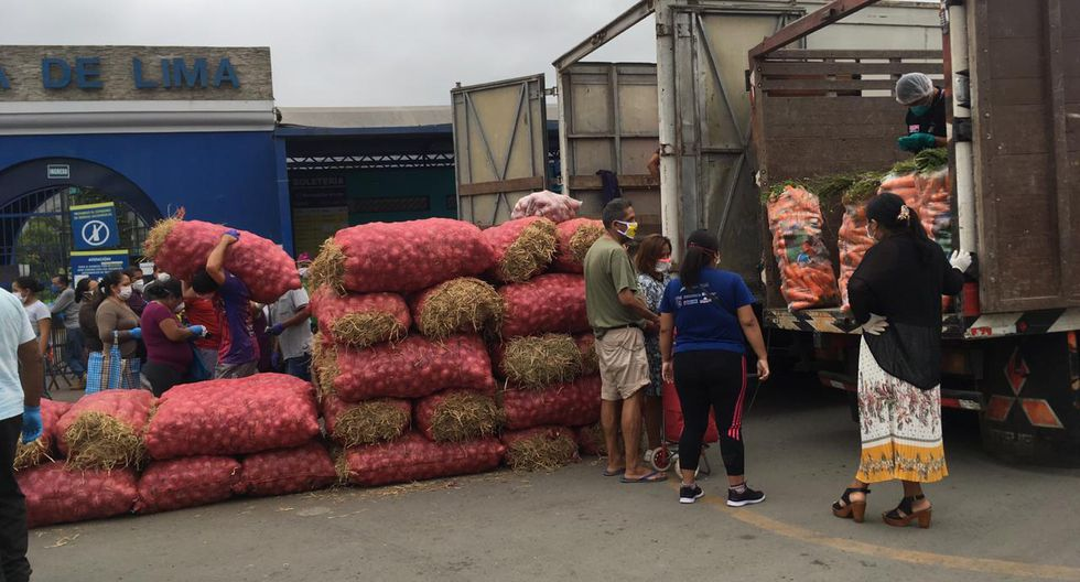Implementan primer punto de abastecimiento descentralizado para mercados minoristas. Fotos: Anthony Niño de Guzmán (GEC)