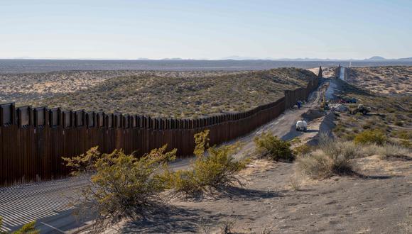 El muro fronterizo en Nuevo México. (Foto referencial: AFP)