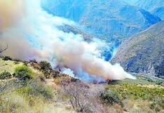 Joven de 24 años falleció con el 81% de su cuerpo quemado tras intentar apagar incendio en Huancavelica