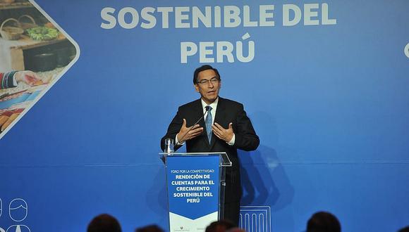 Vizcarra: El 95% de obras del plan de infraestructura estarán listas al 2025