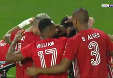 Martín Benitez anotó el 2-0 para el cuadro tricolor en el Sporting Cristal vs. Sao Paulo (VIDEO)