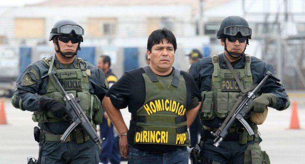 La Policía Nacional capturó al prófugo Rubén Moreno Olivo, conocido como 'Goro' al interior de una vivienda en el distrito de Los Olivos, el pasado 14 de julio. (Foto: Archivo)