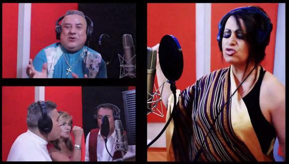 """""""Canción por el Bicentenario"""": Genaro Hurtado fue el productor de esta canción. (Foto: Captura)"""