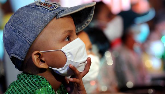 """El estudio se titula """"Impacto temprano de la pandemia de covid-19 en la atención del cáncer pediátrico en América Latina"""".  (Foto referencial: PAL PILLAI / AFP)"""