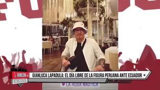 Así fue el día libre de Gianluca Lapadula en Lima: Visitó a su familia y salío de compras (VIDEO)