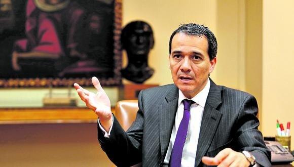 Ex ministro de Economía y Finanzas Alonso Segura