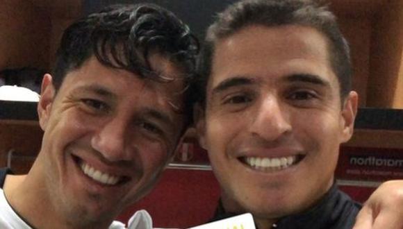 Aldo Corzo compartió una imagen con Gianluca Lapadula. (Foto: Instagram)