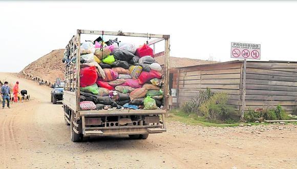 Pedidos por delivery han elevado la cantidad de residuos sólidos igual que los equipos de protección personal descartables