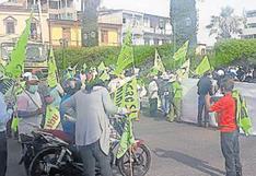 Intereses políticos genera división en dirigentes de Tambo