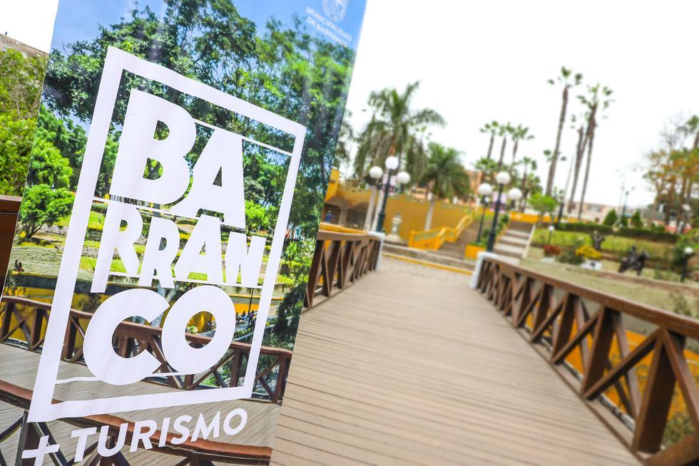 El Ministerio de Comercio Exterior y Turismo (Mincetur) entregó el sello internacional Safe Travels a Barranco, uno de los puntos turísticos más emblemáticos de la ciudad Lima. (Foto: Mincetur)