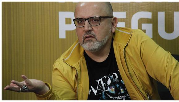 Beto Ortiz participa en conversatorio con periodistas (FOTOS)