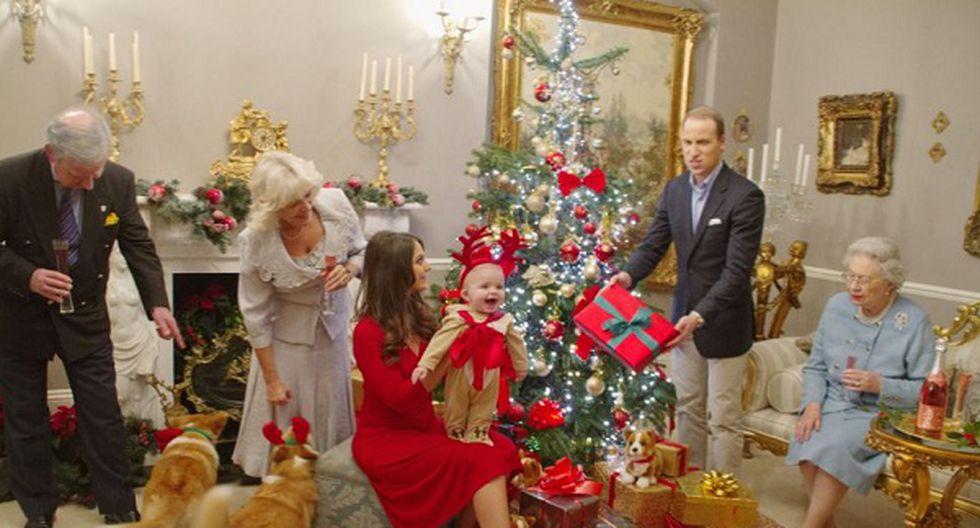 Mira la primera navidad del 'Príncipe George'