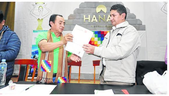 """Gregorio Santos se inscribe a partido del gobernador de Junín """"Perú Libre"""""""