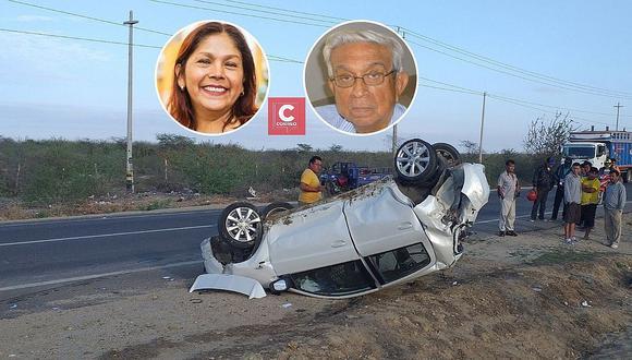 Padre e hija fallecen en accidente en la Panamericana