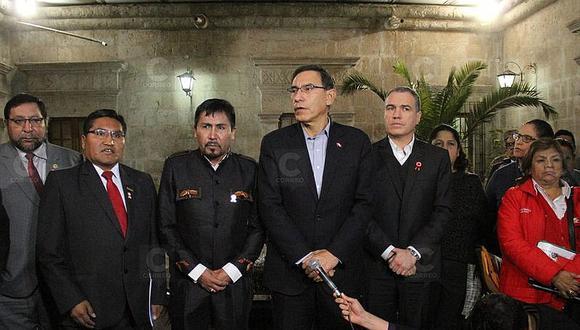 Tía María: Vizcarra ya había ofrecido retroceder mientras Premier buscaba diálogo