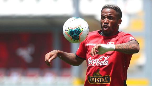 Jefferson Farfán jugó dos partidos con la selección peruana en esta jornada de Eliminatorias. (Foto: FPF)