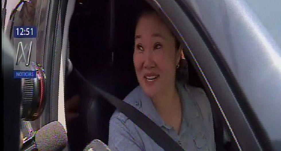Keiko Fujimori visita a su madre tras pasar primera noche en su hogar