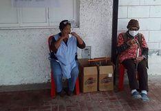 Adultos mayores se oponen a que local se use como albergue