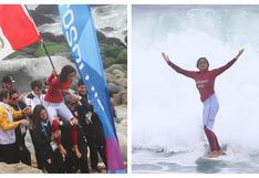 Lima 2019: Daniela Rosas obtuvo medalla de oro en surf (FOTOS y VIDEO)