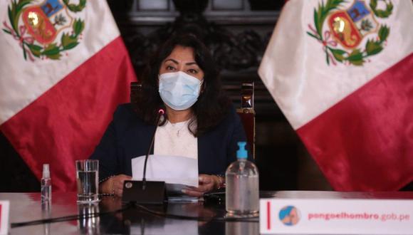 Ejecutivo brinda pronunciamiento para dar a conocer medidas en el marco del estado de emergencia por el COVID-19. (Foto: PCM)