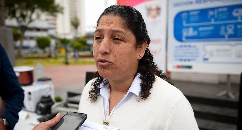 Fabiola Muñoz dijo no creer que este sea el momento adecuado para que los ministros respondan interpelaciones. (Foto: Difusión)