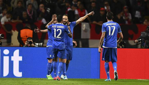 Champions League: Juventus venció 2-0 de visita al Mónaco y se acerca a la final