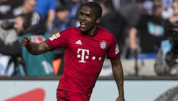 Douglas Costa jugó dos temporadas por Bayern Múnich. (Foto: AFP)