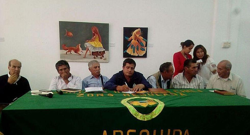 Juntas de Usuarios de Arequipa piden al Ejecutivo que declare en emergencia el agro