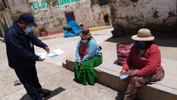 Puno: La Oficina Descentralizada de Procesos Electorales (ODPE) Puno, instalará mesas de sufragio en 15 centros poblados , a fin de garantizar y acercar el voto a 10,541 electores en estado de pobreza y pobreza extrema. (Foto ODPE Puno)