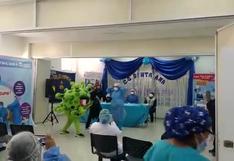 Enfermeras en Huancavelica explican mediante mini obra de teatro la importancia de la vacunación contra el COVID-19 (VIDEO)