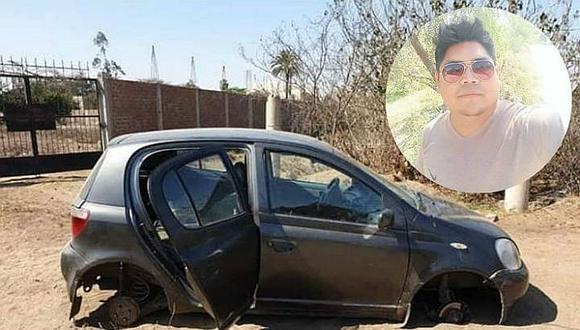 Hallan cadáver de músico dentro de auto desmantelado