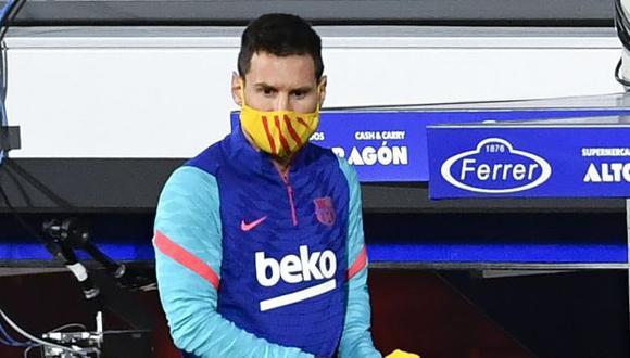 Lionel Messi tiene contrato con Barcelona hasta el 30 de junio del 2021. (Foto: EFE)