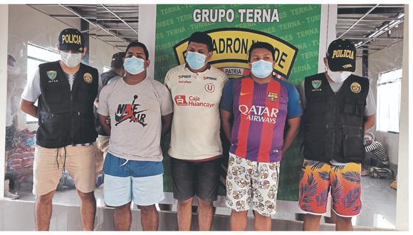 Harry Córdova Pizango, José Morán Maceda y Jorge Rentería Rosas trasladaban en sus autos a dieciséis extranjeros que ingresaron desde Ecuador de manera ilegal a territorio peruano.