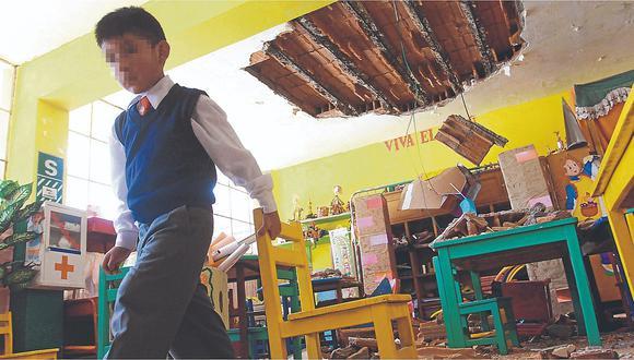 192 colegios aún no son reconstruidos