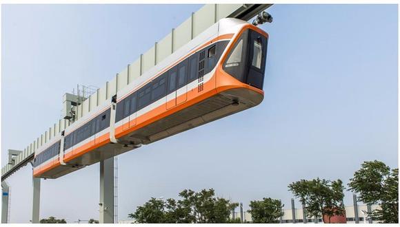"""China: empiezan pruebas del """"tren del cielo"""" (VIDEO)"""