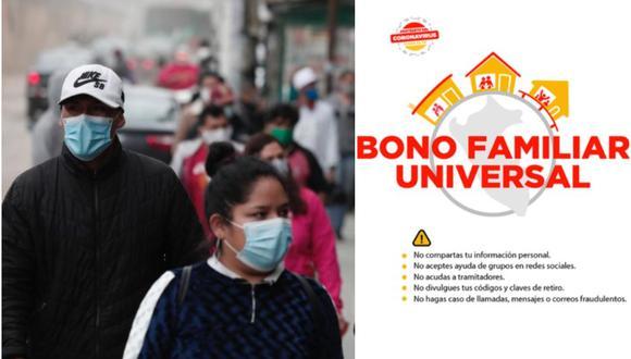 Este mes inicia el cobro del segundo Bono Familiar de 760 soles. ¿Cuándo comenzará a pagarse? ¿Quiénes recibirán? ¿Cómo será el pago? Entre otras preguntas serán respondidas a continuación.