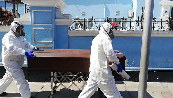 Cuatro decesos se dieron en la provincia de Trujillo y uno en Santiago de Chuco. Además, se registró 64 nuevos infectados de coronavirus.