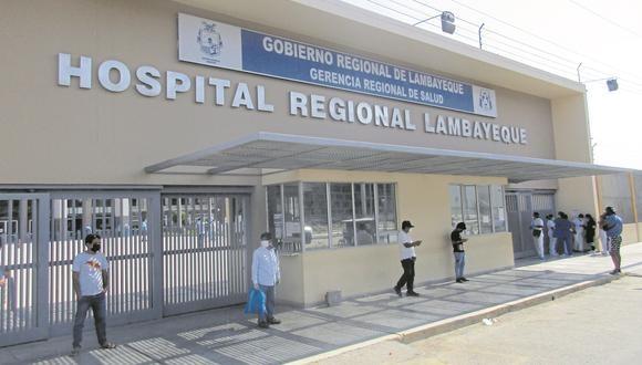 Un proyecto para dotar de equipos al Hospital Regional por más de S/ 1 millón tiene un avance del 28 %.