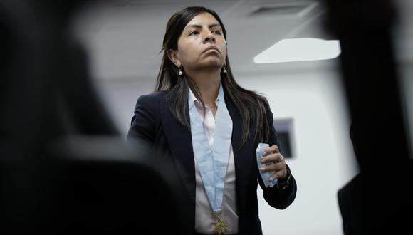 Giulliana Loza. (Foto: Anthony Niño de Guzmán/ El Comercio)