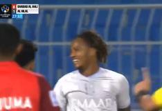 André Carrillo vuelve a ser figura con Al Hilal y anota el 2-0 ante Al Ahli (VIDEO)