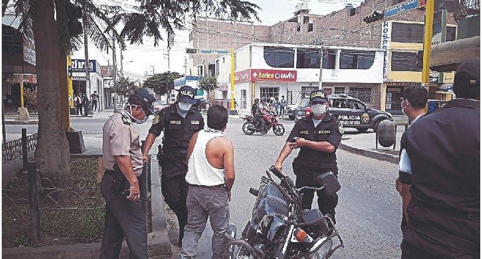 En Casma, 127 personas, entre ellas 9 menores, son intervenidas en día