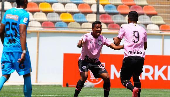 Festejo de Sport Boys. Foto: Liga 1