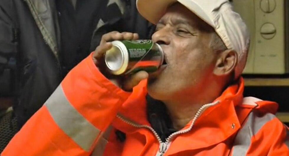 Contratan a alcohólicos para limpiar calles a cambio de cerveza