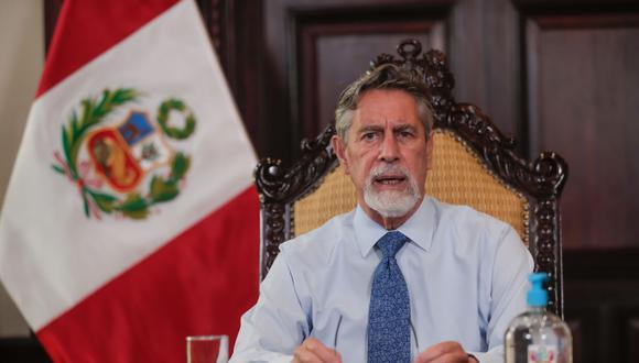 Francisco Sagasti ANDINA/Prensa Presidencia