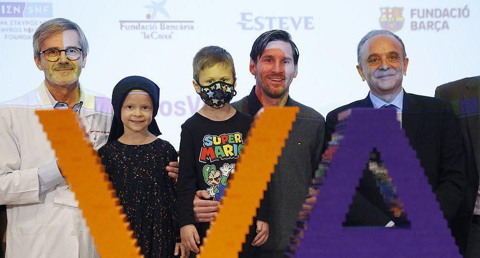 Lionel Messi donó 100 mil euros para investigación del cáncer infantil