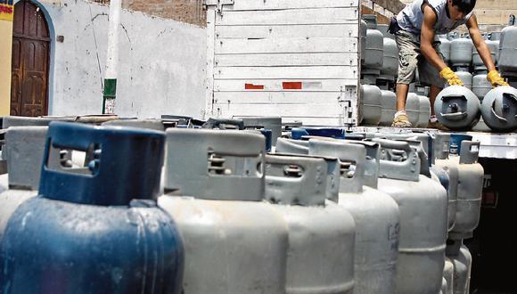 Precio del balón de gas se incrementa, aunque precio de importación es menor