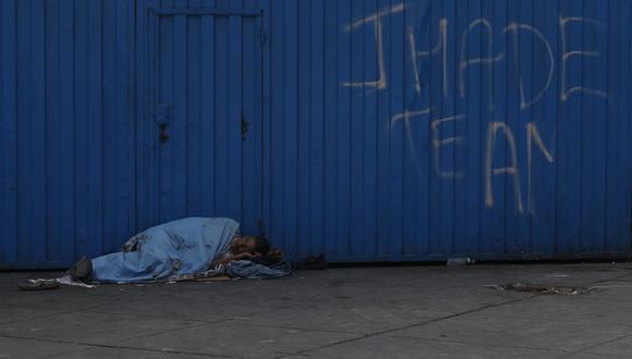 Hasta el momento, 345 personas que se encontraban en estado de abandono han sido beneficiadas con el programa municipal Volver a Casa. (Foto: César Campos / GEC)