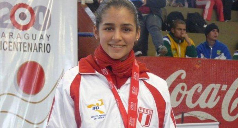 Alessandra Vindrola logró medalla de bronce en Juegos Panamericanos