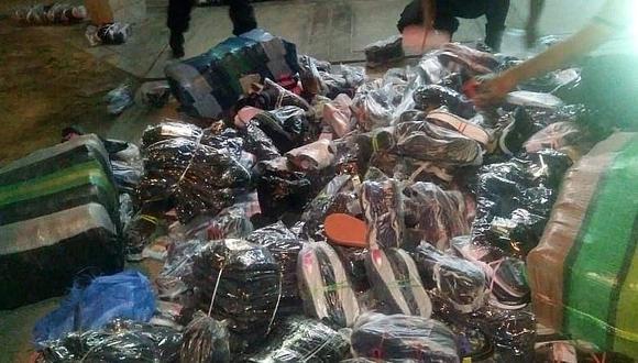 En auto hallan contrabando valorizado en 15 mil soles